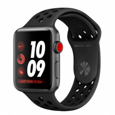 Apple Watch Series 3 Nike+ 42mm GPS+LTE Space Gray Aluminum Case with Anthracite/Black Nike Sport Band (MTGW2)
