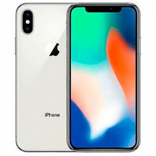 iPhone X 256Gb (silver) used